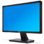 "Monitor LED 20"" dell in2030"